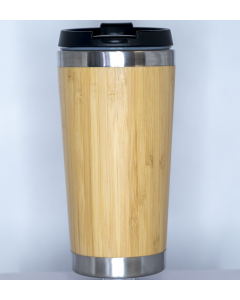 Bamboo Stainless Steel Tumbler